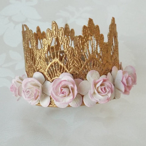 Blooming Gold Crown
