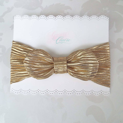 Gold Crush with Removeable Bow