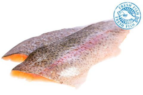 Rainbow Trout Fillets Special $12.95/lb <br><b>$16.95/lb</b>