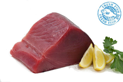 FRESH Wild Sushi Grade Yellow fin Tuna Steaks