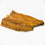 Smoked Wild Atlantic Mackerel Peppered Fillets $17.95/lb..