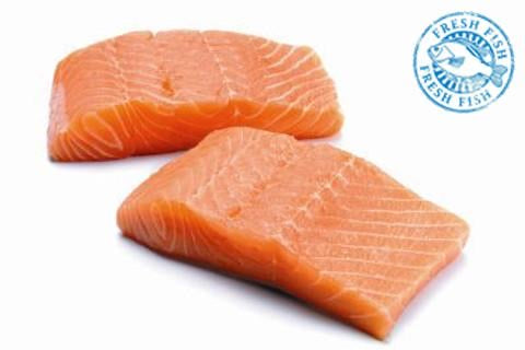 Organic Salmon Portions $9.95/each
