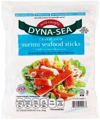 Imitation Crab Sticks $10.95/package