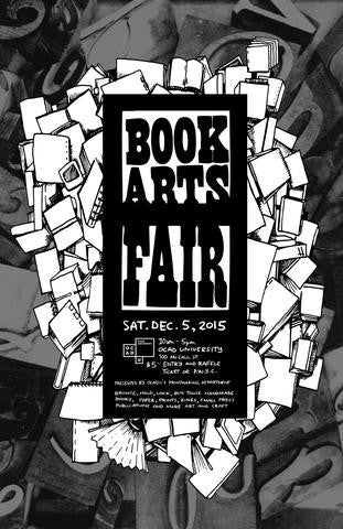 December 5, 2015 – OCADU Annual Book Arts Fair