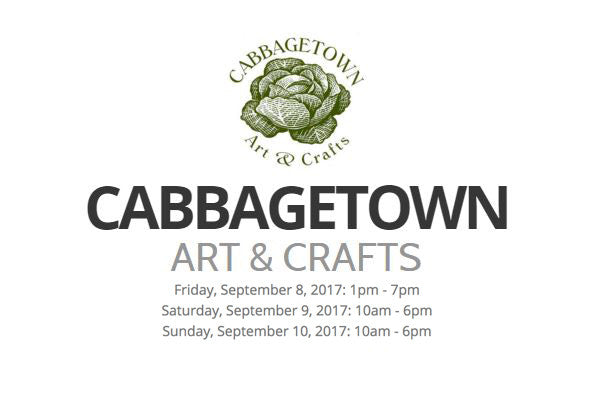 Upcoming – September 9-11 – Cabbagetown Art & Crafts