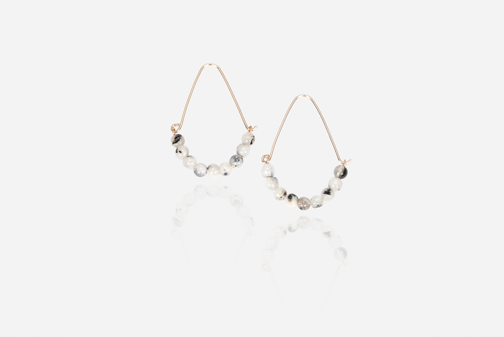 Bijoux Moonstone Earrings