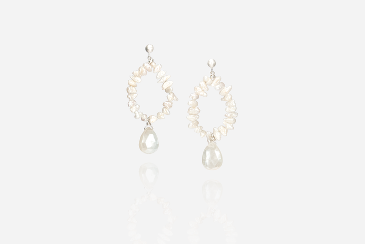Bijoux Chalcedony Drop Earrings