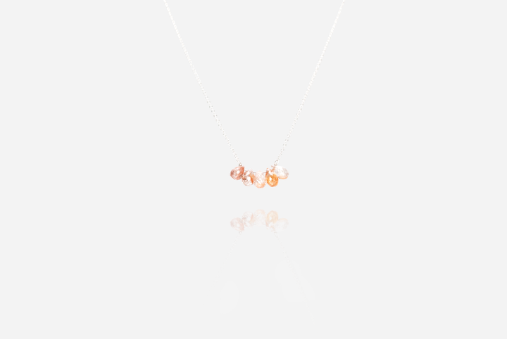 Bijoux Sunstone Silver Necklace