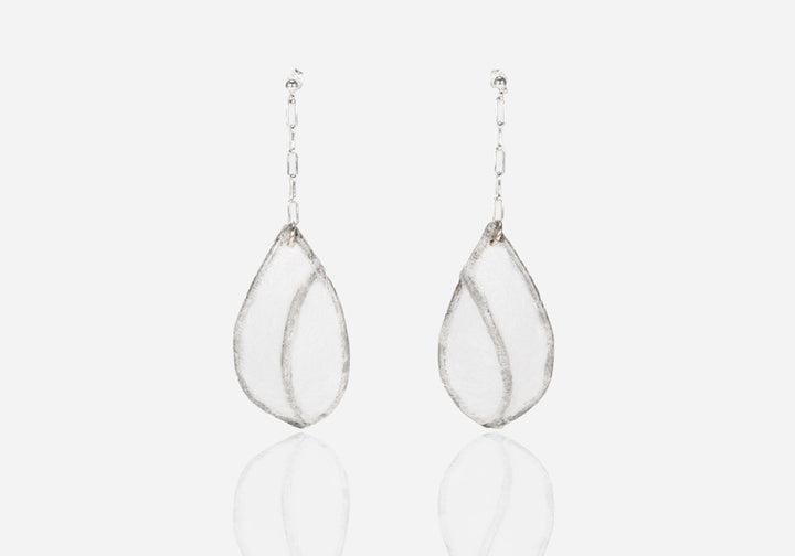Papier Stains Drop Earrings, Small