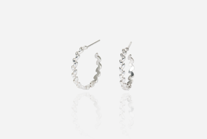 Olivia Large Hoop Earrings