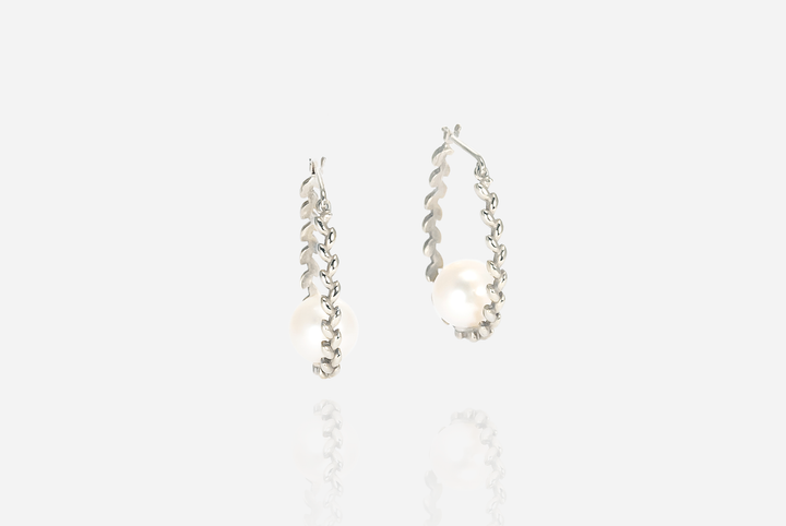 Olivia Drop Pearl Earrings