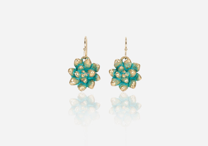 Succs Echeveria Drop Earrings, Large
