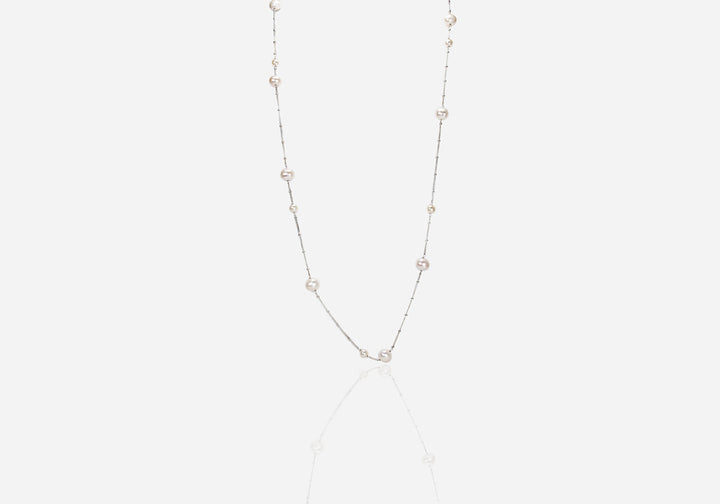 String of Pearls Cream Pearl Necklace