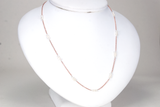 String of Pearls Rose Petite Necklace