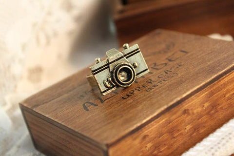 Adjustble Bronze Camera Ring