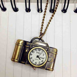 Camera Pocket Watch
