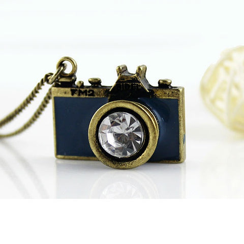 Camera Photography Necklace
