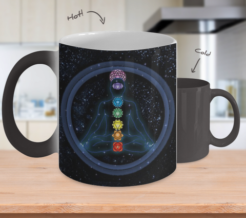 Chakra Healing Color Changing Mug