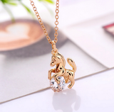 Horse Crystal Necklace