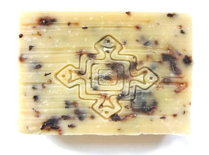 Toogga Gentle Exfoliating Herbal Hibiscus and Baobab Soap Bar