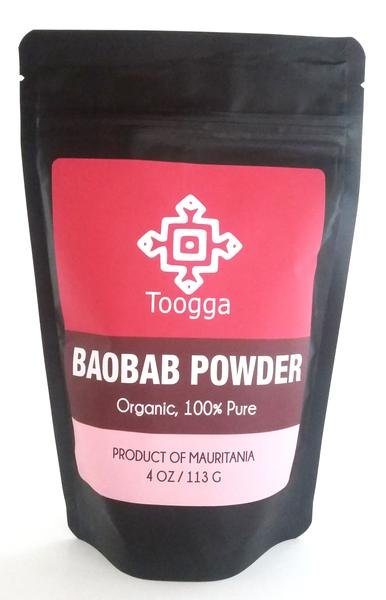 Toogga Baobab Fruit Powder. Pure ground Baobab Pulp.