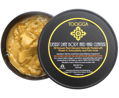 toogga Organic Desert Date Body and Hair Cleanser. balanites aegyptiaca