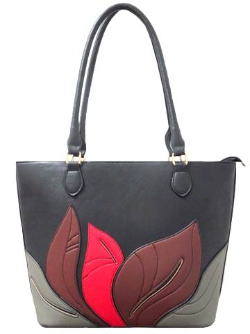 Floral Tote Leather Handbags