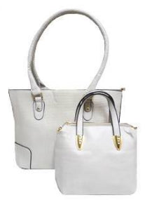 2 PC Tote Handbags