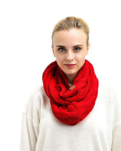 Popular CC Chic Knit Scarf