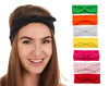 Women Headbands with Bows Accessories for Fashion Or Sport (4 or 8 PC)
