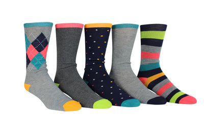 30 Pairs John Weitz Mens Dress Socks
