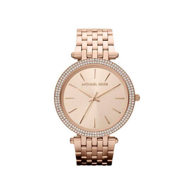 Michael Kors Rose Gold Darci Watch with Swarovski® Crystals
