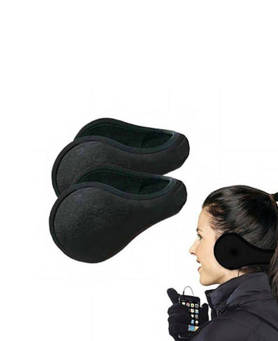 4 Pack: Fleece Earmuffs