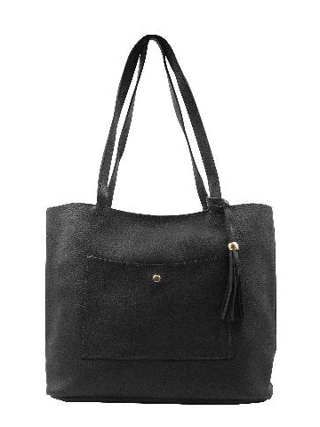 Barbados Collection Leather Tote Handbag