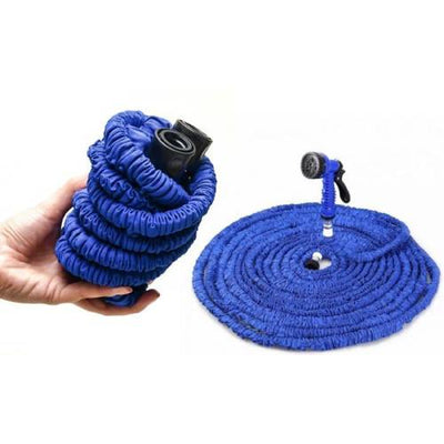 Expandable Garden Watering Hose + Nozzle (25ft, 50ft, 75ft, or 100ft)