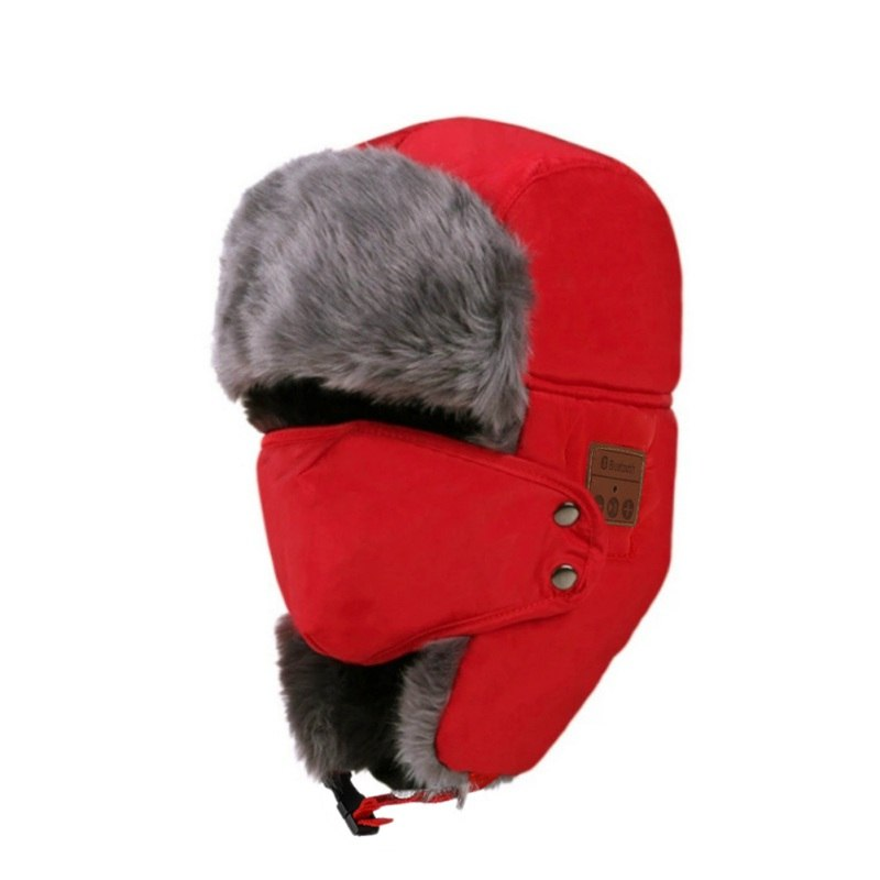 e414c7d78d5 Bluetooth Fur Winter Hat - Barbados Leather