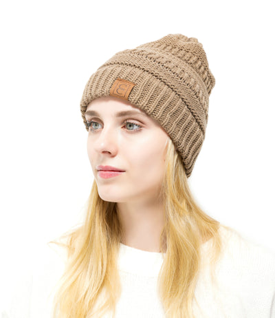 2 Pack: Popular CC Chic Winter Beanie