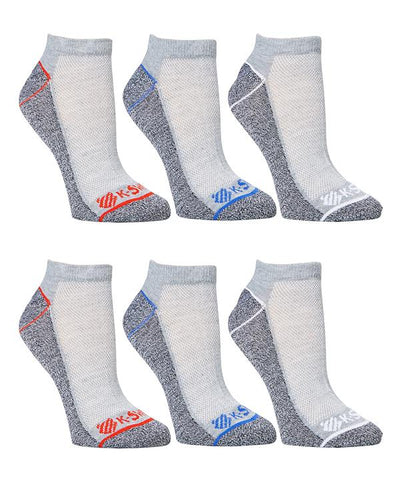 K-Swiss Super Soft 6- Pairs Mens Ankle Socks