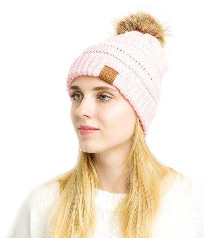Popular CC Chic Pom Pom Beanie