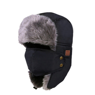 Bluetooth Fur Winter Hat