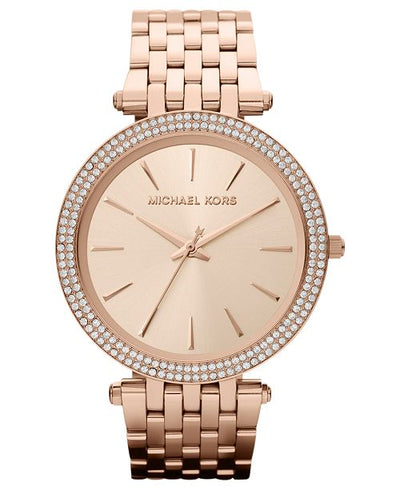 Rose Goldtone Darci Bracelet Watch with Swarovski® Crystals