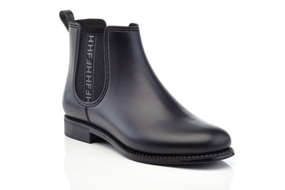 Women's Matt Marsala HF Fashion Rain Boots