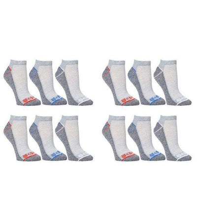 K-Swiss Men's Super Soft Athletic Ankle Socks - 24-Pairs