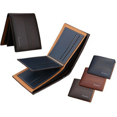 Men's Vintage-Style Leather Wallet