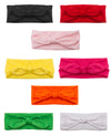 8pc Women Headbands with Bows Accessories for Fashion Or Sport