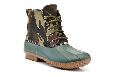 Henry Ferrera Women's Lace Up All Weather Duck Boots