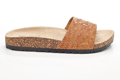Henry Ferrera Women's Slip-on Birkin Studded Sandals
