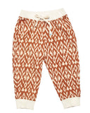 Blue Rooster Gus Ikat Pant - Gingerbread Diamond - E + ME - 1