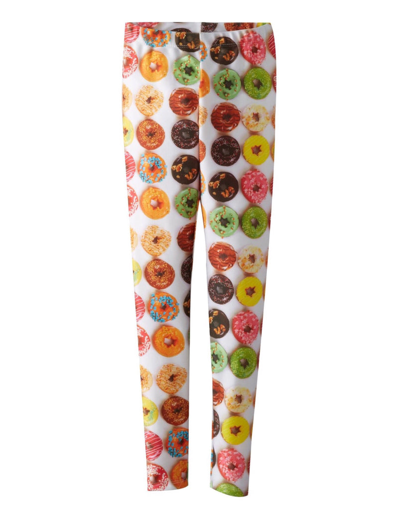 Zara Terez Girls' Donut Print Leggings - E + ME