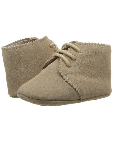 Elephantito Scalloped Bootie - Sand - E + ME - 1